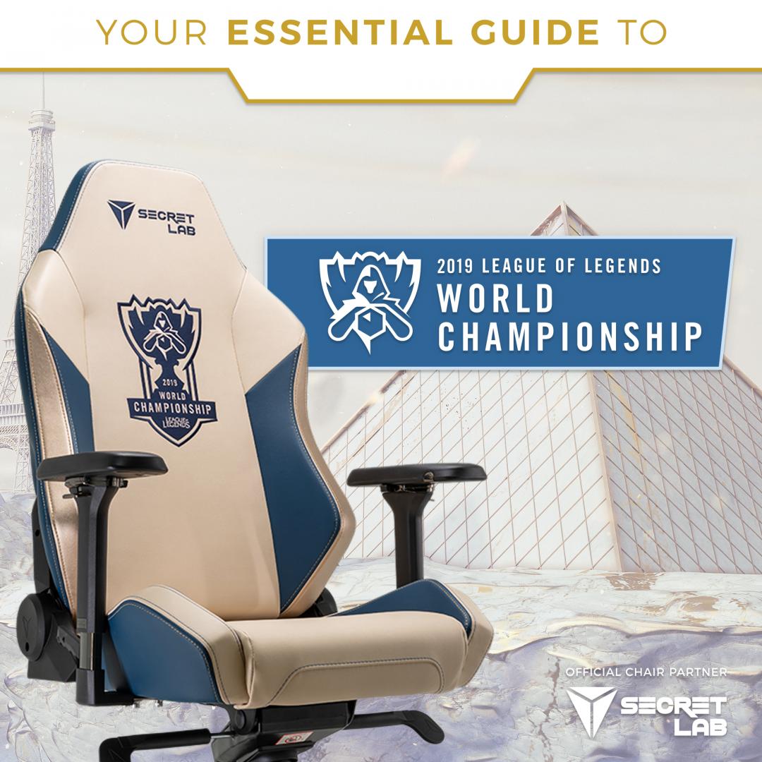 Secretlab Worlds Edition Chair