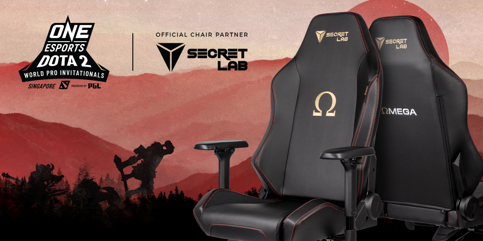 Secretlab partners with ONE Championship's ONE Esports