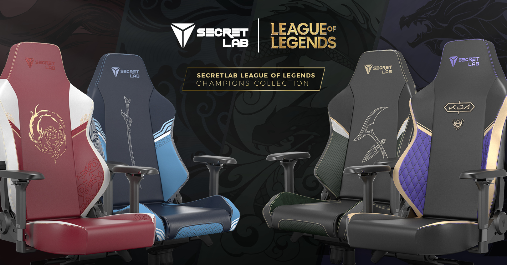 Secretlab League of Legends Champions Collection